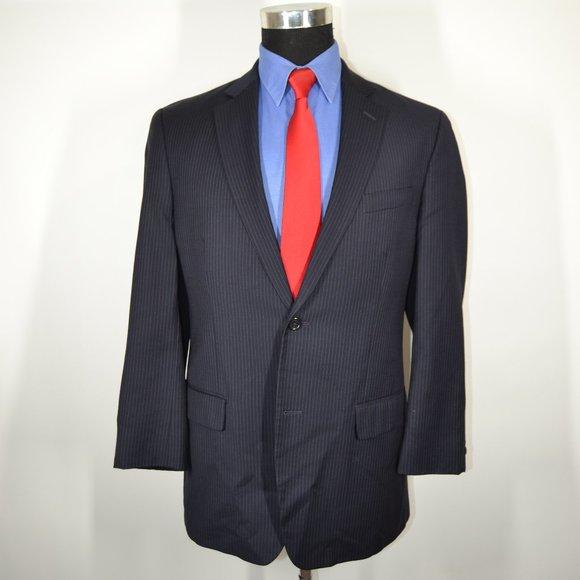 Calvin Klein Other - Calvin Klein 38R Sport Coat Blazer Suit Jacket Nav